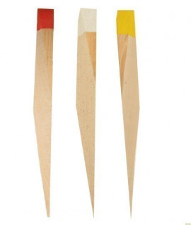 Piquet d'arpentage bois, Vente de piquet d'arpentage bois, Piquet bois, Topographie-lepont.fr