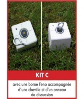 Kit alarme rural pour instruments
