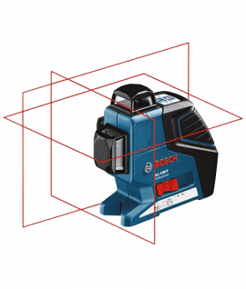 Laser lignes BOSCH GLL 3-80P Kit Complet